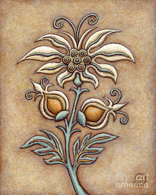 Painting - Tapestry Flower 9 by Amy E Fraser