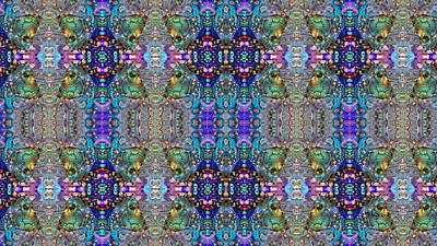 Digital Art - Tapestry by Mike Butler