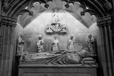 Wall Art - Photograph - Tarragona Cathedral Spain Mausoleum by Joan Carroll