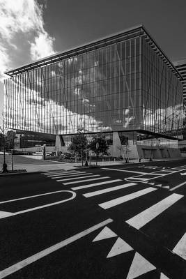 Photograph - Tata Innovation Cornell Tech Nyc Bw by Susan Candelario