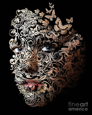 Erik Brede Rights Managed Images - Tattoo Girl Royalty-Free Image by Erik Brede