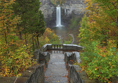 Photograph - Taughannock Falls by Dan Sproul