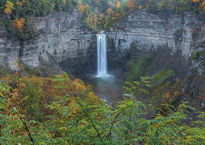 Photograph - Taughannock Falls Overlook by Dan Sproul