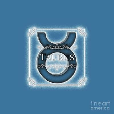 Royalty-Free and Rights-Managed Images - Taurus by Esoterica Art Agency