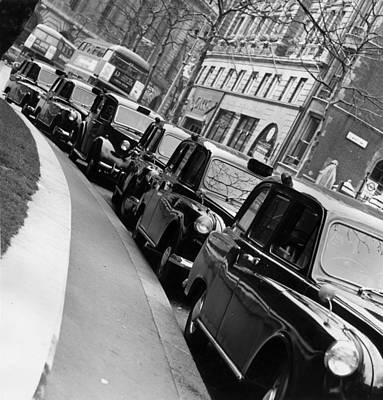 Photograph - Taxi Rank by Malcolm