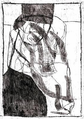 Drawing - Taxman by Artist Dot