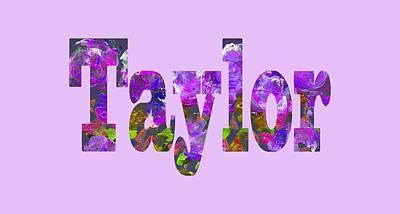 Digital Art - Taylor by Corinne Carroll
