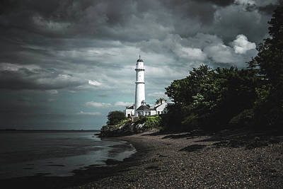 Wall Art - Photograph - Tayport Lighthouse by Kristy Ashton
