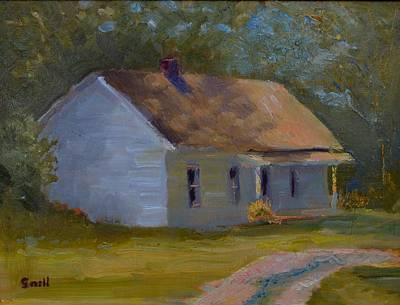Painting - Tay's Cottage by Roger Snell