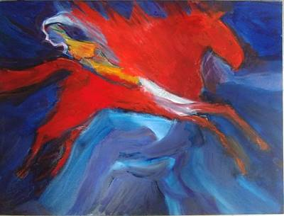 Painting - Tchaikovsky Valkyrie Romeo and Juliet by Jose Herazo-osorio