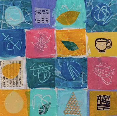Mixed Media - Tea Box One by Paper Jewels By Julia Malakoff