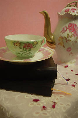 Photograph - Tea Party Time by Pamela Walton