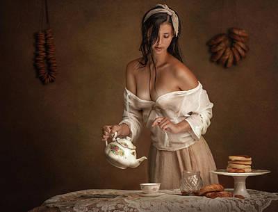 Photograph - Tea time by Evgeny Loza
