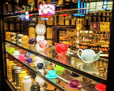 Photograph - Tea Time In London London Tea Shop United Kingdom Uk England by Toby McGuire