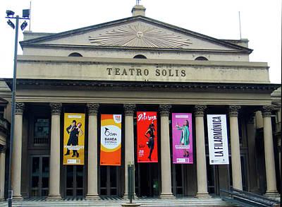 Photograph - Teatro Solis, Montevideo, Uruguay by Kurt Van Wagner