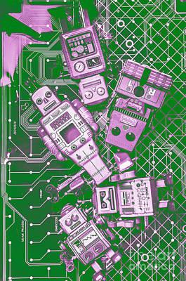 Lab Wall Art - Photograph - Tech Borg Centre by Jorgo Photography - Wall Art Gallery