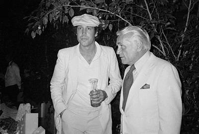 Photograph - Ted Knight And Chevy Chase by Art Zelin