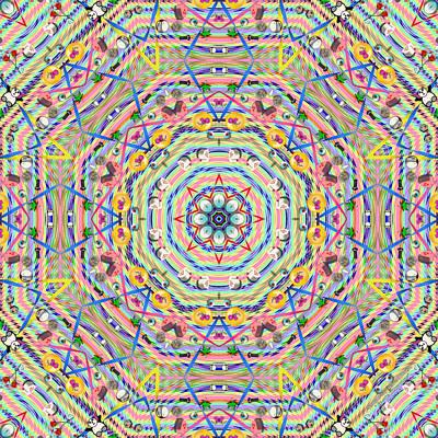 Digital Art - Teddy Bear Tears 1146k8 by Brian Gryphon