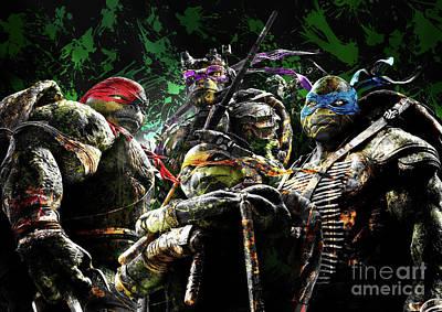 Aloha For Days - Teenage Mutant Ninja Turtles 5 by Prar Kulasekara