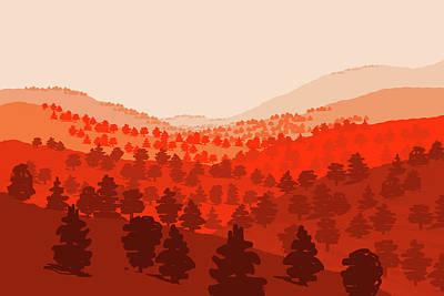 Digital Art - Tehachapi Pass by Charles Harker