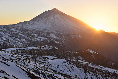 Photograph - Teide National Park In Winter by Marek Stepan