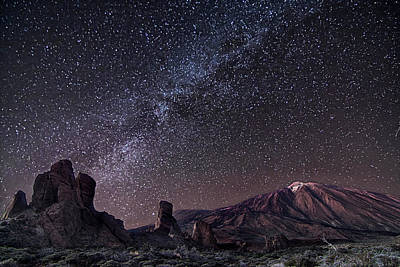 Photograph - Teide Stars by This Is A Dream, Live It.