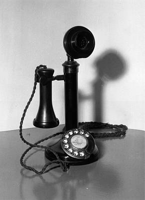 Telephone Art Print by Fox Photos