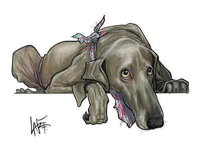 Drawing - Telfare 5069 by John LaFree