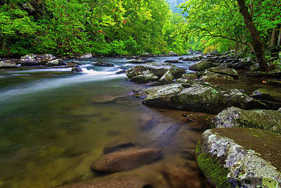Photograph - Tellico River Rapids by Andy Crawford