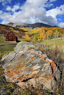 Photograph - Telluride Fall Colors Near Airport by Ray Mathis