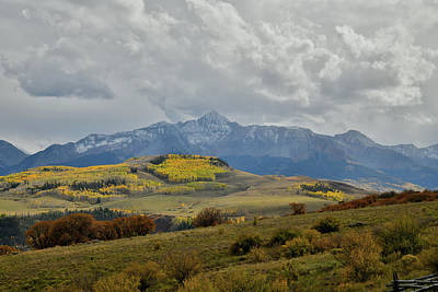 Photograph - Telluride Skyline From Last Dollar Road by Ray Mathis