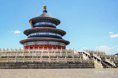 Photograph - Temple Of Heaven by Iryna Liveoak