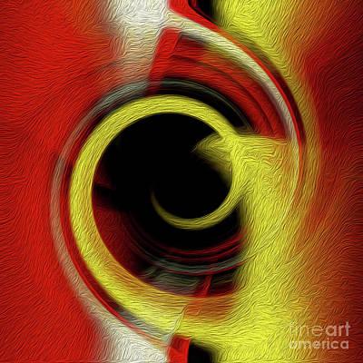 Digital Art - Temporal Vortex 10 by Kenneth Montgomery