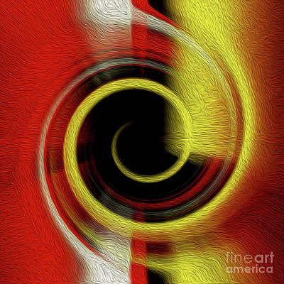 Digital Art - Temporal Vortex 9 by Kenneth Montgomery