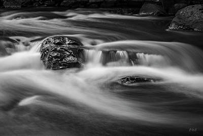 Photograph - Ten Mile River I Hunts Mills Bw by David Gordon
