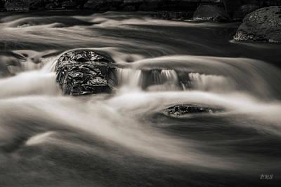 Photograph - Ten Mile River I Hunts Mills Toned by David Gordon