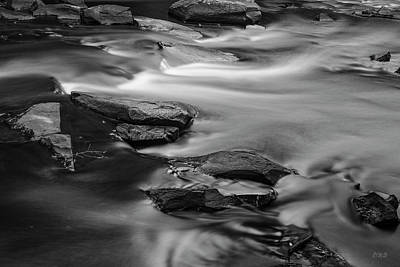 Photograph - Ten Mile River II Hunts Mills Bw by David Gordon