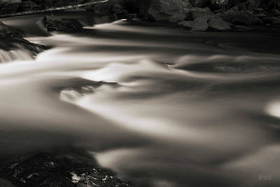 Photograph - Ten Mile River Iv Hunts Mills Toned by David Gordon