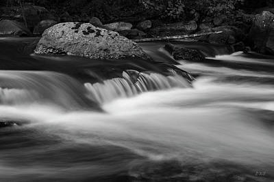 Photograph - Ten Mile River V Hunts Mills Bw by David Gordon
