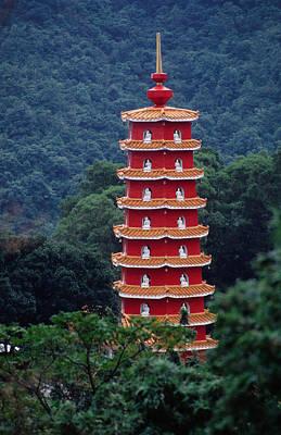 Photograph - Ten Thousand Buddhas Monastery by Richard I'anson