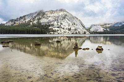 Photograph - Tenaya Lake 3 by Silvia Marcoschamer