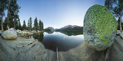 Photograph - Tenaya Lake In Yosemite National Park by Eastcott Momatiuk