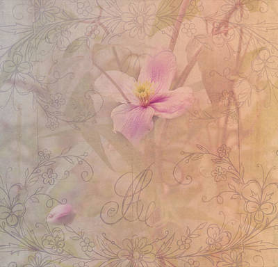 Photograph - Tender Flower From Secret Garden 1 by Jenny Rainbow