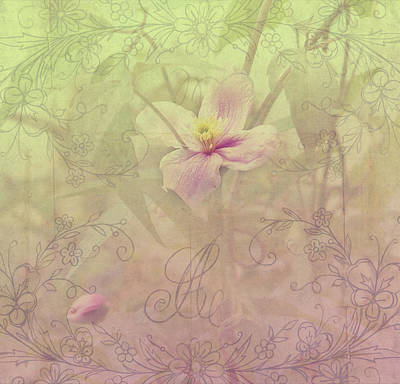 Photograph - Tender Flower From Secret Garden 2 by Jenny Rainbow