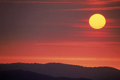 Photograph - Tennessee Sunrise by David Hosking