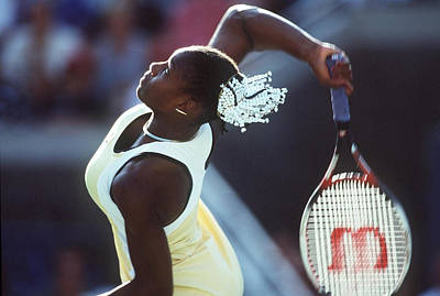 Photograph - Tennis Us Open 1999 by Mark Sandten