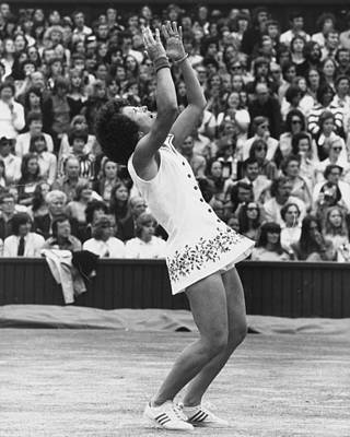 Photograph - Tennis Victory by David Ashdown