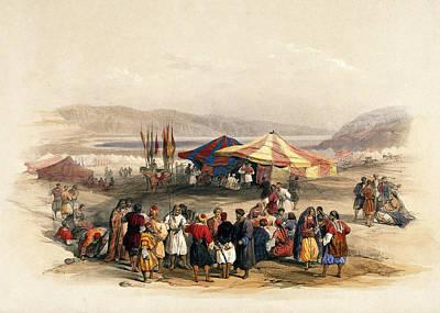 Photograph - Tent Of Pilgrims Jericho by Munir Alawi