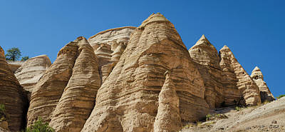 Photograph - Tent Rocks Panorama I Color by David Gordon