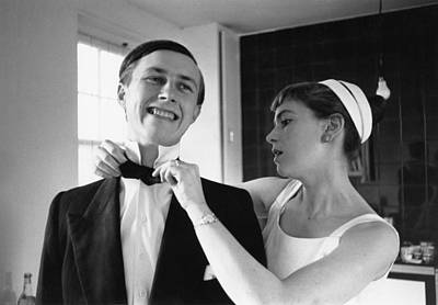 Photograph - Terence And Shirley by Thurston Hopkins